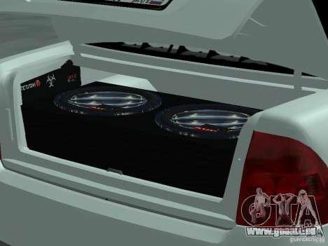 Lada Priora Adidas pour GTA San Andreas vue de droite
