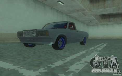 Lada 2107 Street Racing für GTA San Andreas rechten Ansicht
