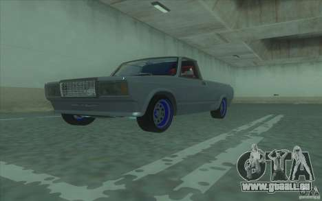 Lada 2107 Street Racing pour GTA San Andreas vue de droite