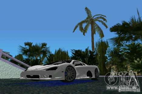 SSC Altimate Aero für GTA Vice City linke Ansicht