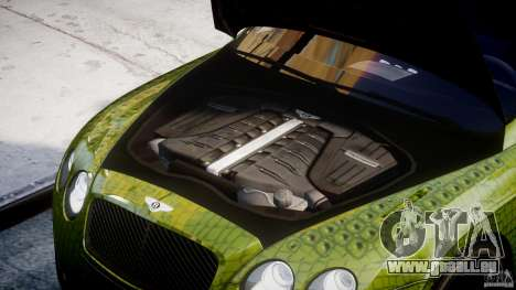 Bentley Continental SS 2010 Suitcase Croco [EPM] pour GTA 4 est un droit