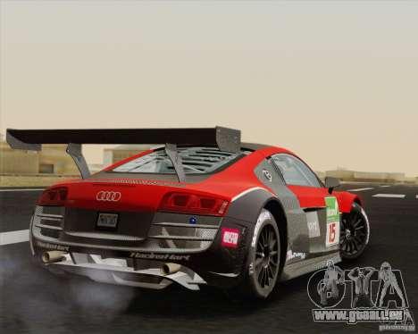 Audi R8 LMS v2.0.1 für GTA San Andreas rechten Ansicht
