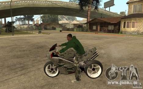 Streetfighter NRG 500 Snakehead v2 für GTA San Andreas linke Ansicht