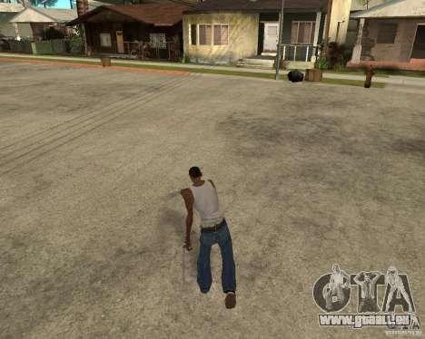 Wolverine mod v1 (Scooby-Doo) für GTA San Andreas neunten Screenshot