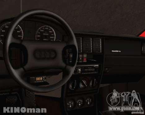 Audi 90 Quattro pour GTA San Andreas vue de droite