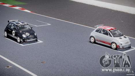 Fiat 500 Abarth pour GTA 4 roues