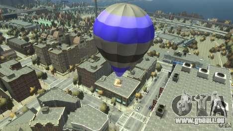 Balloon Tours option 8 pour GTA 4 Vue arrière de la gauche