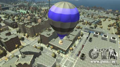 Balloon Tours option 8 für GTA 4 hinten links Ansicht