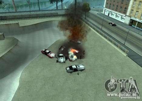 Neue Auswirkungen von Explosionen für GTA San Andreas zweiten Screenshot
