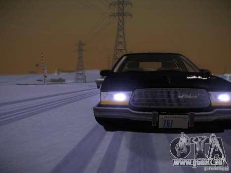 Buick Roadmaster 1996 pour GTA San Andreas vue de côté