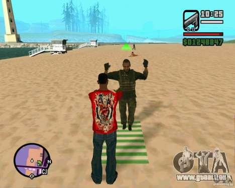 Aktion von COD Modern Warfare 2 für GTA San Andreas zweiten Screenshot