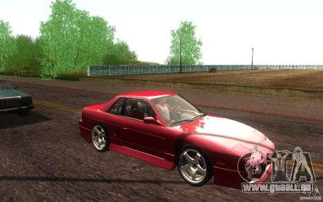 Nissan Silvia S13 Onevia für GTA San Andreas Seitenansicht
