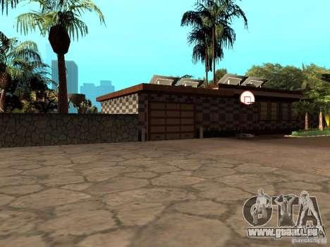 Reteksturirovannyj Haus CJeâ V1 für GTA San Andreas zweiten Screenshot