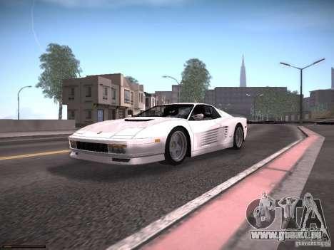 LiberrtySun Graphics ENB v2.0 für GTA San Andreas achten Screenshot