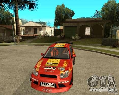 Subaru Impreza WRX STi D1 Spec pour GTA San Andreas