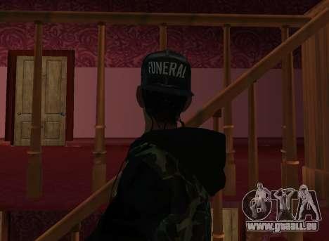 A$AP Rocky pour GTA San Andreas quatrième écran