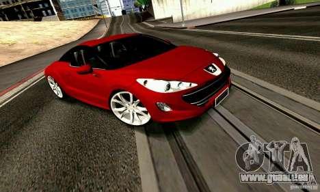 Peugeot Rcz 2011 pour GTA San Andreas vue de côté