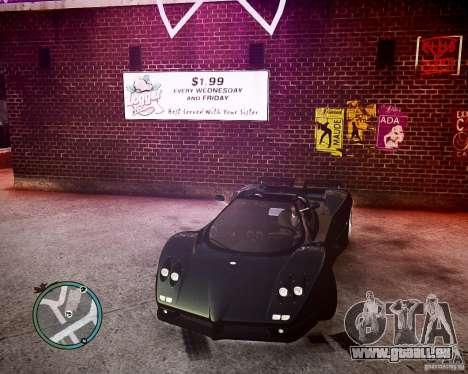 Pagani Zonda C12S Roadster für GTA 4