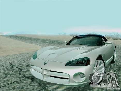 Dodge Viper SRT-10 Roadster für GTA San Andreas rechten Ansicht