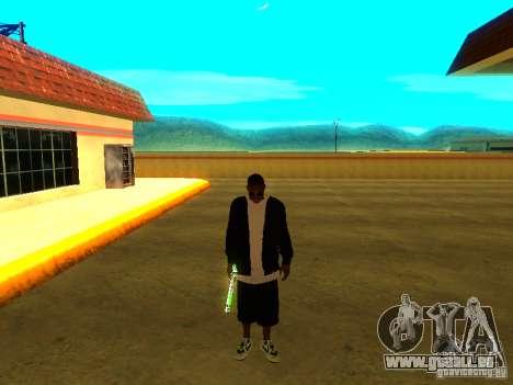 Nouveau Ballas épais pour GTA San Andreas cinquième écran