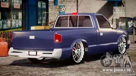 Chevrolet S10 1996 Draggin [Beta] pour GTA 4 est un côté