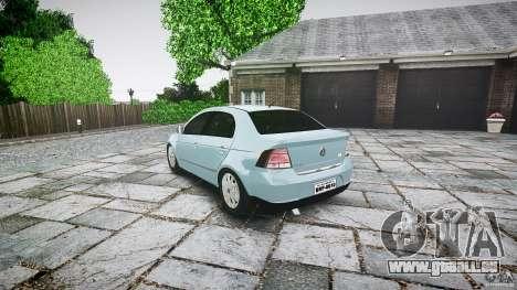 Volkswagen Voyage Comfortline für GTA 4 hinten links Ansicht