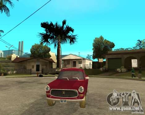 Peugeot 404 UXD pour GTA San Andreas vue arrière