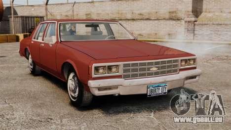 Chevrolet Caprice Classic 1979 pour GTA 4