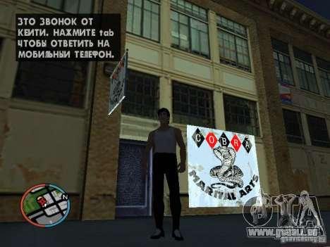 Bruce Lee-Haut für GTA San Andreas dritten Screenshot