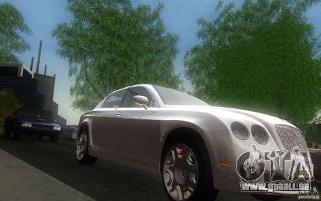Bentley Continental Flying Spur für GTA San Andreas Rückansicht