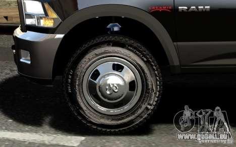 Dodge Ram 3500 Stock Final für GTA 4 Unteransicht