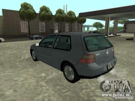 Volkswagen Golf IV für GTA San Andreas linke Ansicht