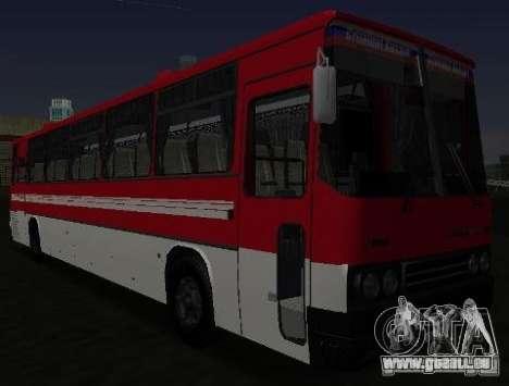 IKARUS 250 pour GTA San Andreas vue intérieure