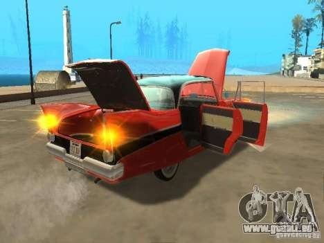 Plymouth Belvedere Sport sedan pour GTA San Andreas vue de droite