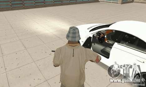 Mercedes-Benz CLS 63 AMG für GTA San Andreas Rückansicht