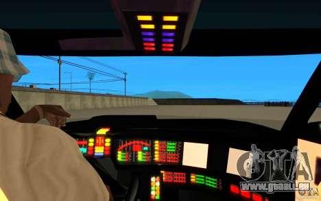 Pontiac Firebird 1989 K.I.T.T. für GTA San Andreas Innenansicht