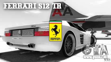 Ferrari 512 TR BBS pour GTA 4