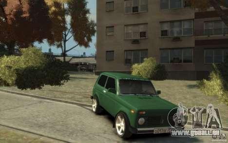 VAZ 21214 Niva pour GTA 4 Vue arrière