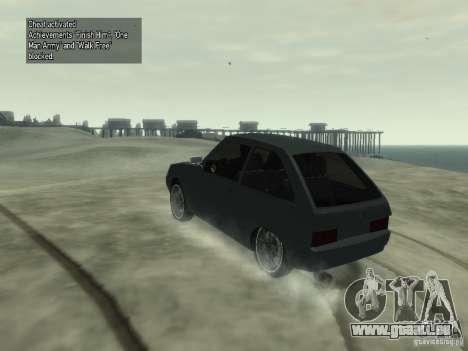 ZAZ Tavria 1102 pour GTA 4 est une gauche