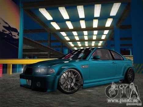 BMW E46 Drift II pour GTA San Andreas vue de côté