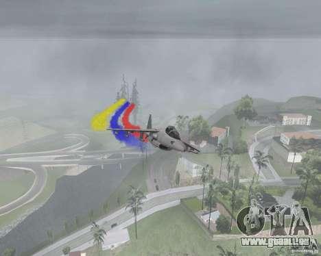 Bunt Streifen für Flugzeuge für GTA San Andreas zweiten Screenshot