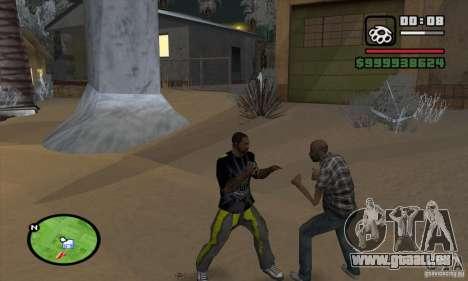 Monster energy suit pack pour GTA San Andreas sixième écran