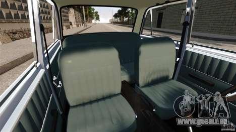 Stock de Vaz-2101 pour GTA 4 est une vue de l'intérieur