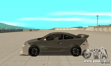 Chevrolet Cobalt SS NFS ProStreet pour GTA San Andreas laissé vue