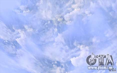Real Sky Efects für GTA San Andreas her Screenshot