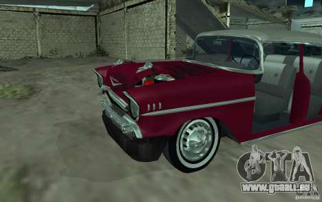 Chevrolet BelAir 4 Door Sedan 1957 für GTA San Andreas Innenansicht