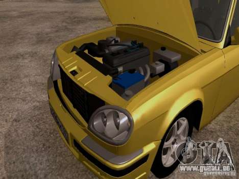 GAZ Wolga 31107 für GTA San Andreas Rückansicht
