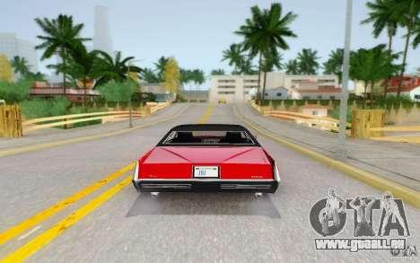 Manana from GTA 4 pour GTA San Andreas vue de droite