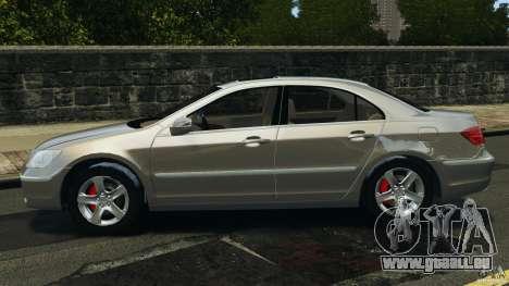 Honda Acura RL für GTA 4 linke Ansicht