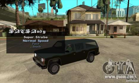 ELM v9 for GTA SA (Emergency Light Mod) für GTA San Andreas dritten Screenshot